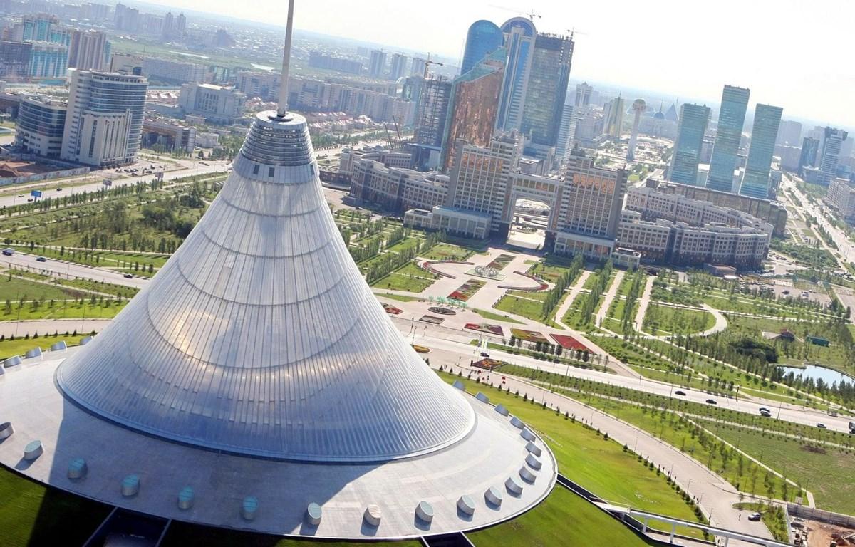 Một góc Astana, nay là Nur-Sultan. (Nguồn: AFP)