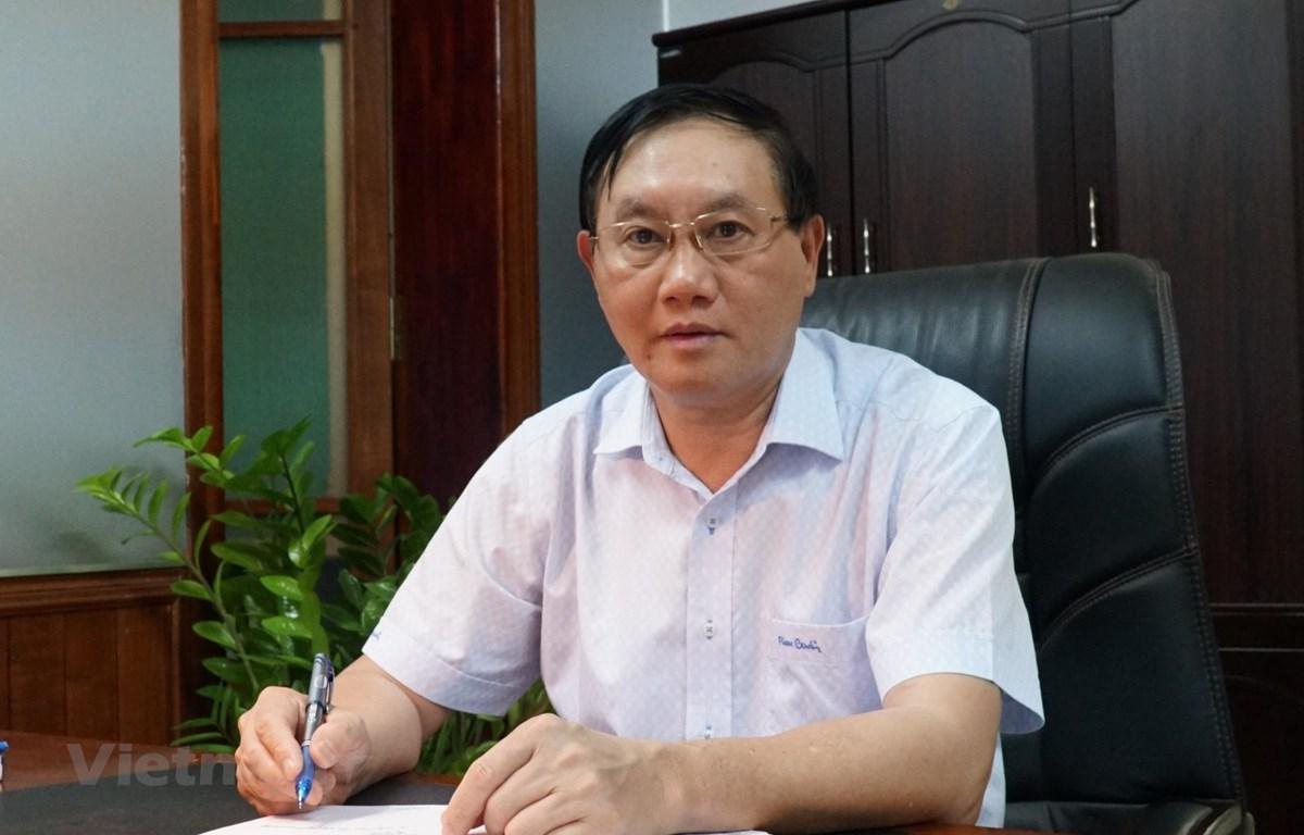Ông Nguyễn Đình Quang - Ủy viên Ban Thường vụ Tỉnh ủy, Phó Chủ tịch UBND tỉnh Tuyên Quang. (Ảnh: Phạm Yến/Vietnam+)