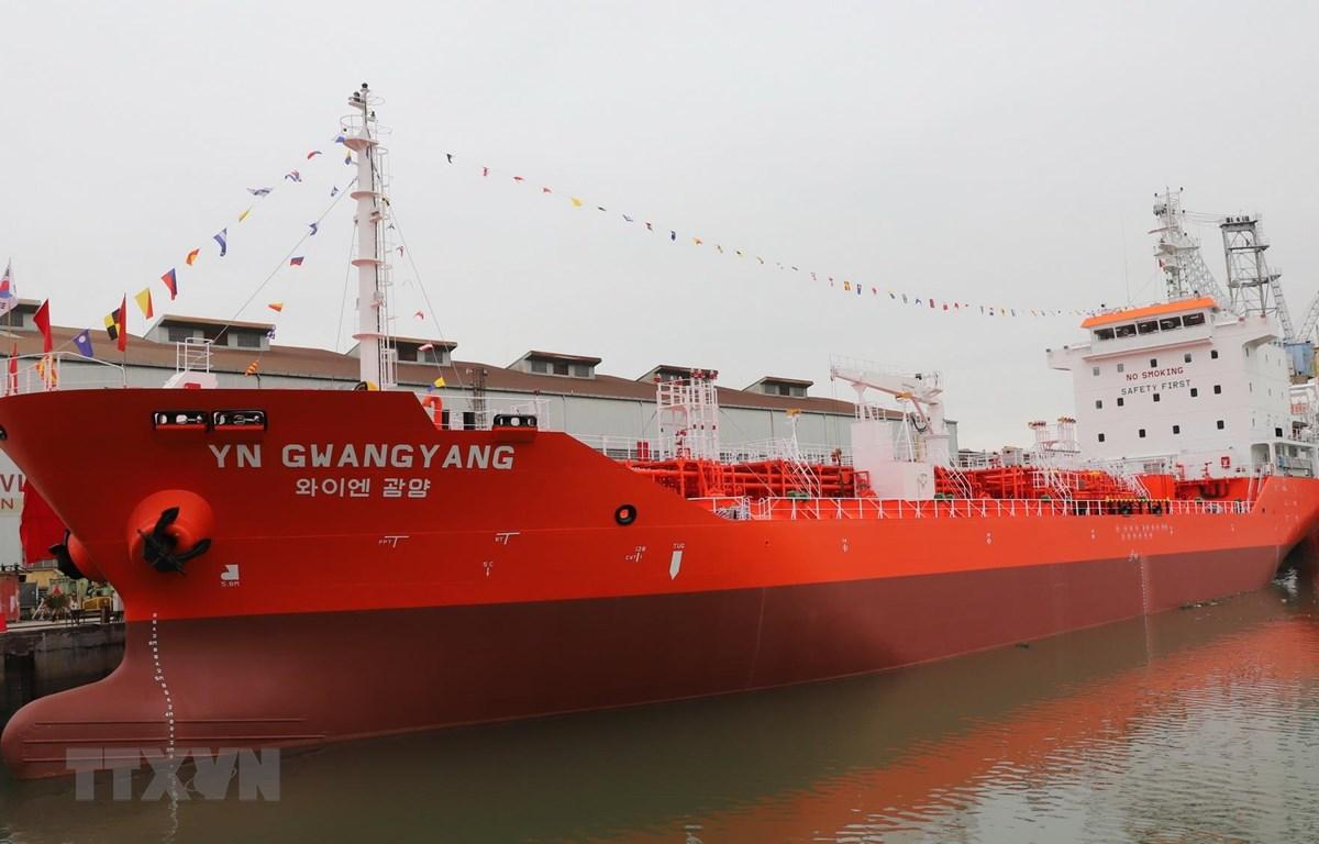 Tàu YN GWANGYANG. (Ảnh: Tuấn Phan/TTXVN)