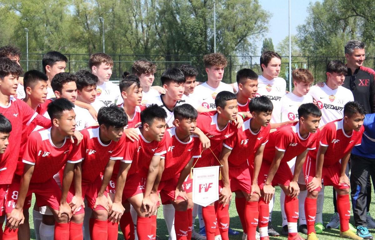 U15 PVF xếp hạng 8/24 đội tham dự. (Nguồn: Đại sứ quán Việt Nam tại Hà Lan)