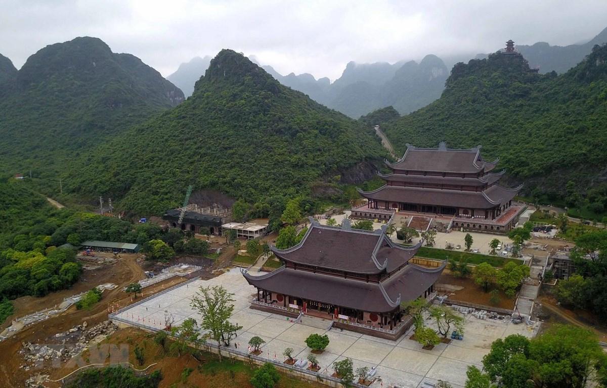 Đại lễ Phật đản Liên hợp quốc 2019 lần thứ 16 diễn ra tại Trung tâm Văn hóa Phật giáo Tam Chúc (huyện Kim Bảng, tỉnh Hà Nam) từ ngày 12 đến 14/5/2019. (Nguồn: TTXVN)