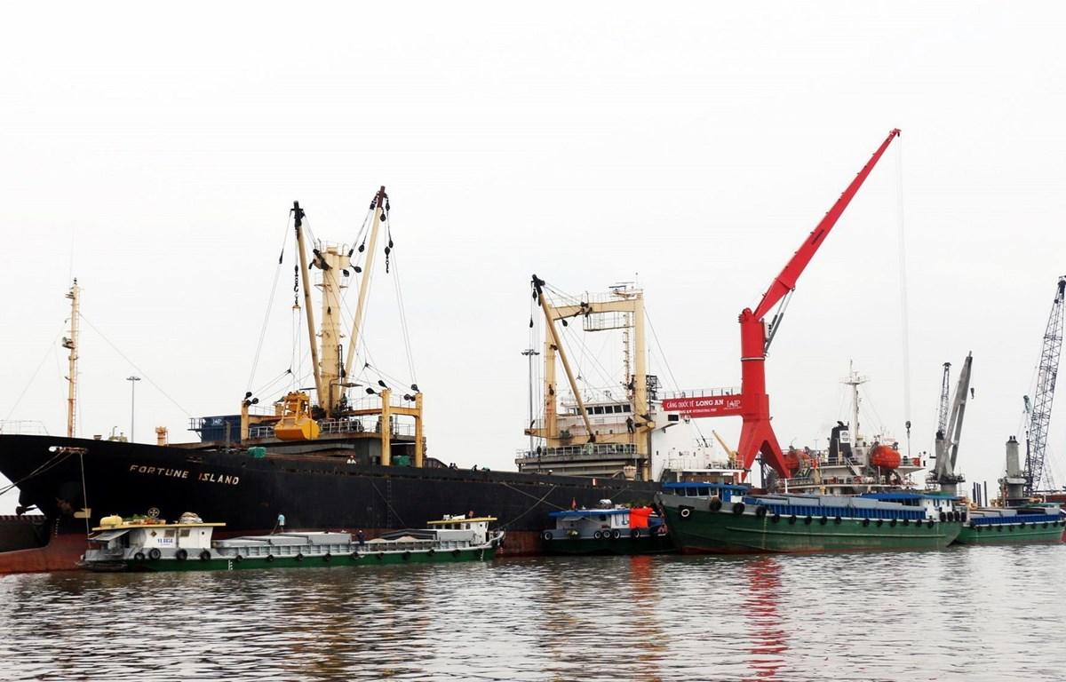 Cảng quốc tế Long An. (Nguồn: TTXVN)