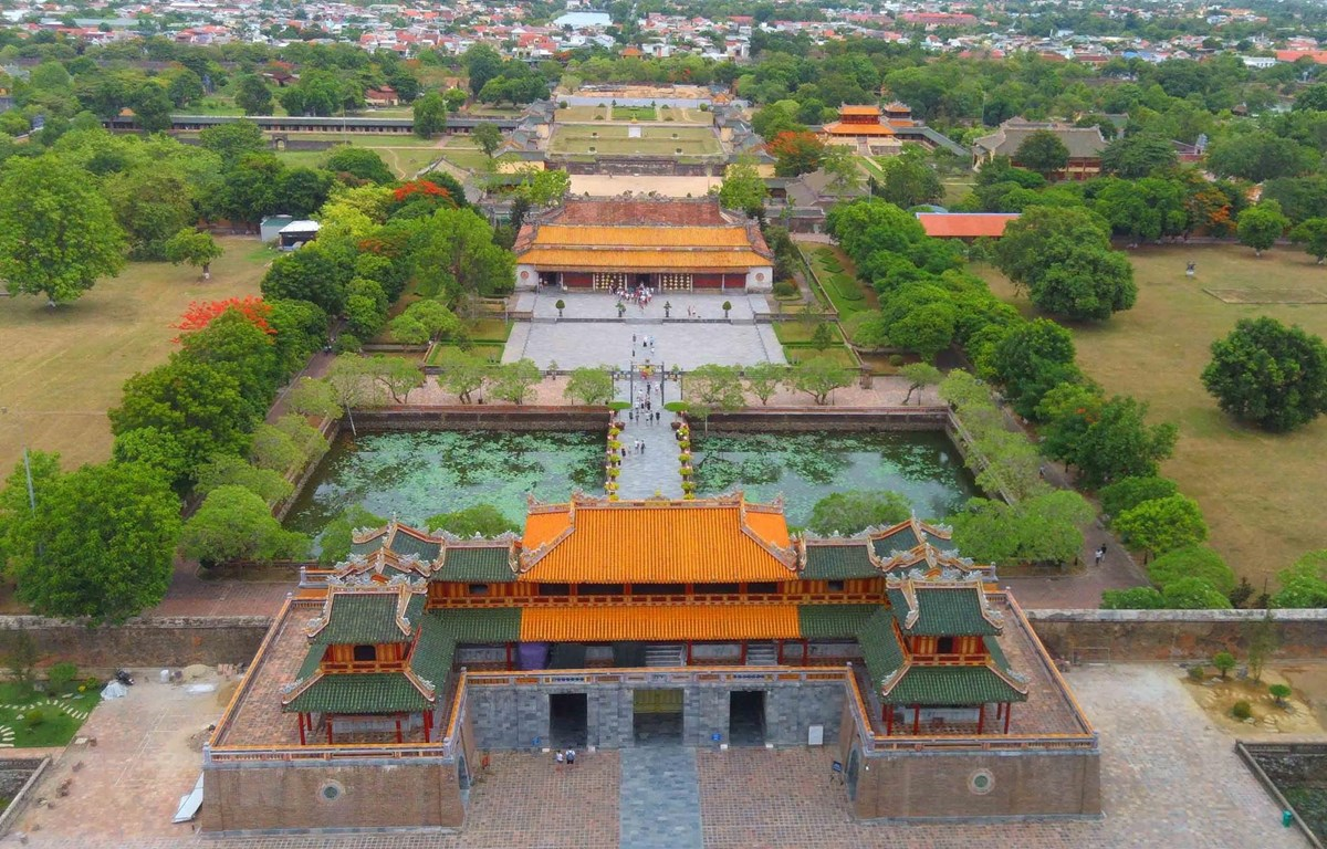 Quần thể di tích cố đô Huế được UNESCO công nhận là Di sản Văn hóa thế giới năm 1993. (Ảnh: Nhật Anh/TTXVN)