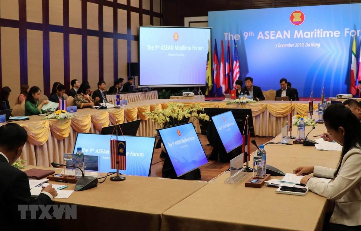 Quang cảnh Diễn đàn Biển ASEAN. (Ảnh: Nguyễn Sơn/TTXVN)