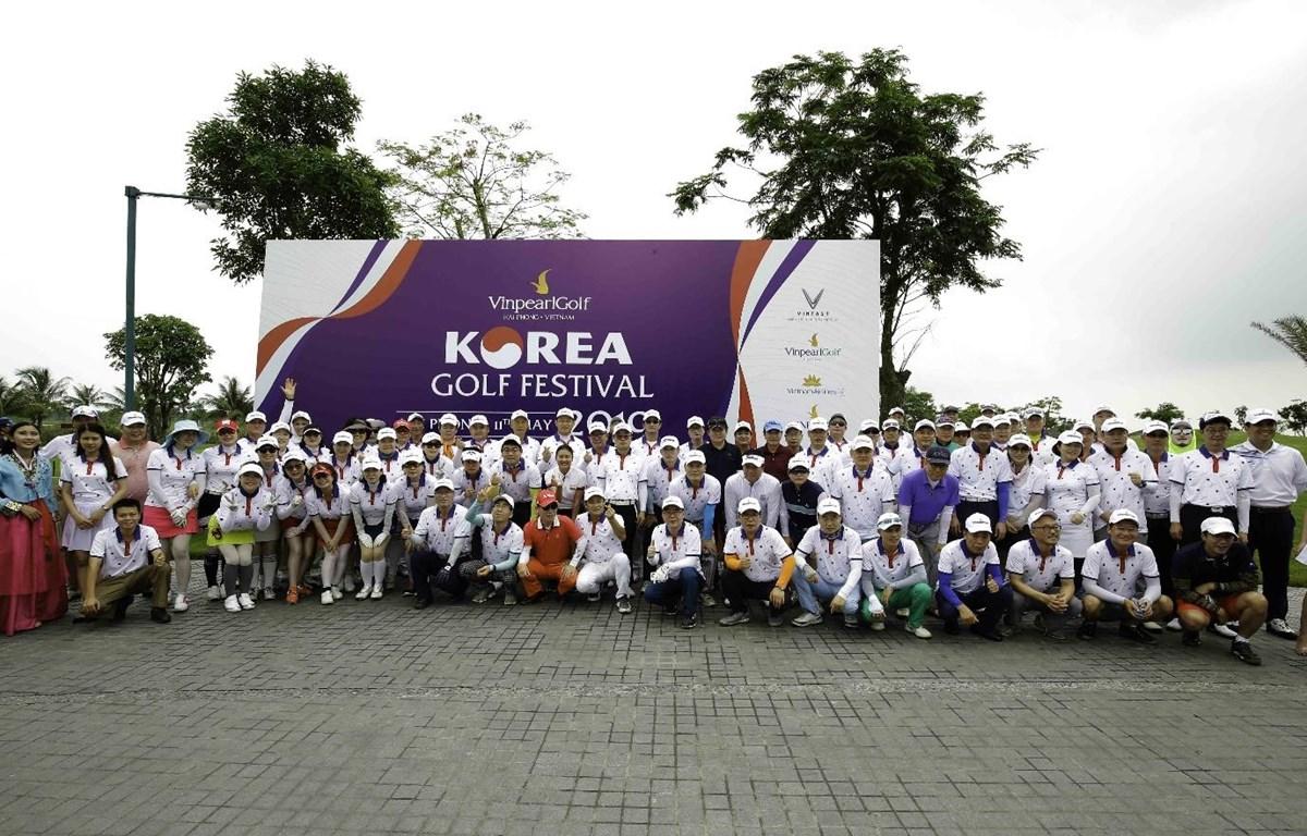 Korea Golf Festival là giải đấu mang ý nghĩa kết nối văn hóa Việt – Hàn, vừa được tổ chức tại Vinpearl Golf Hải Phòng. (Ảnh: CTV)