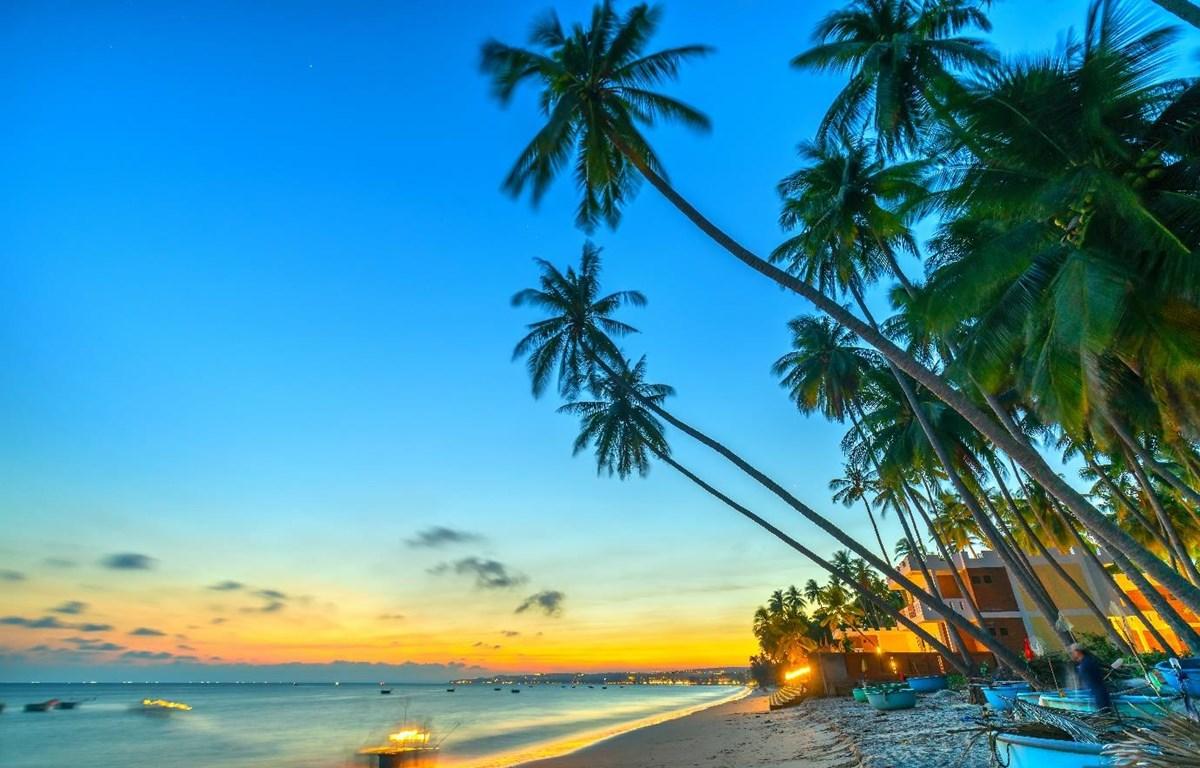 Phan Thiết với đường bờ biển trong xanh luôn là điểm đến hấp dẫn. (Ảnh: CTV)