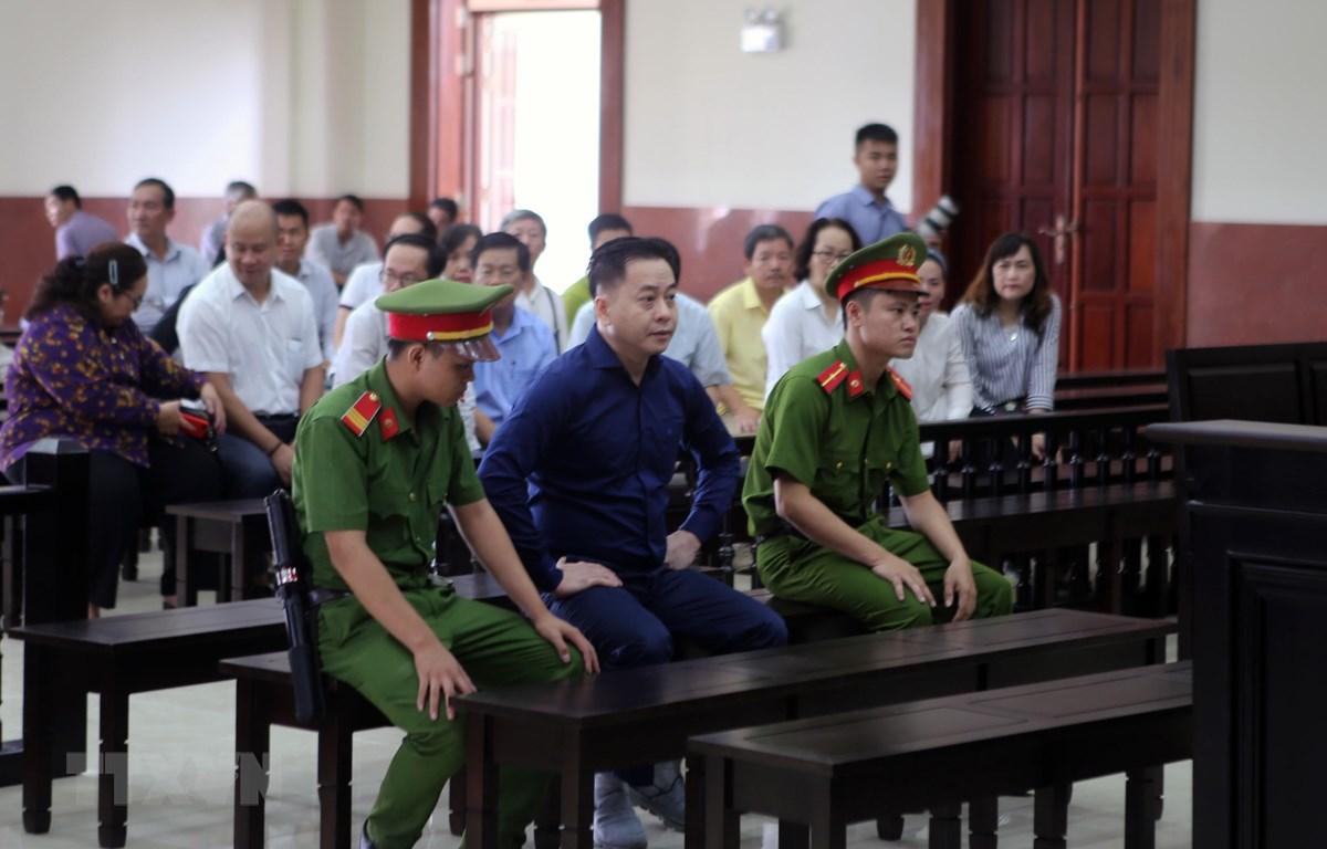 Bị cáo Phan Văn Anh Vũ tại phiên tòa sáng 22/4/2019. (Ảnh: Thành Chung/TTXVN)