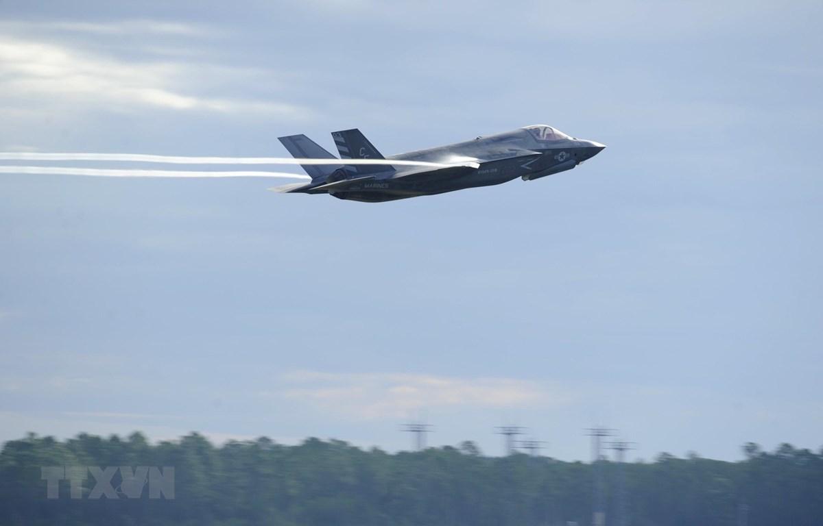 Máy bay tiêm kích tàng hình F-35. (Ảnh: AFP/TTXVN)