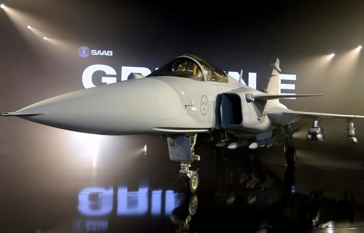 JAS Gripen 39 E. (Nguồn: Getty imges)
