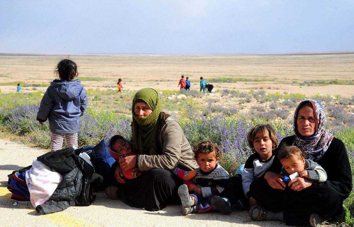 Người tị nạn Syria. (Ảnh: THX/TTXVN)