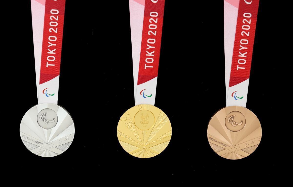 Thiết kế của các tấm huy chương. (Nguồn: paralympic.org)