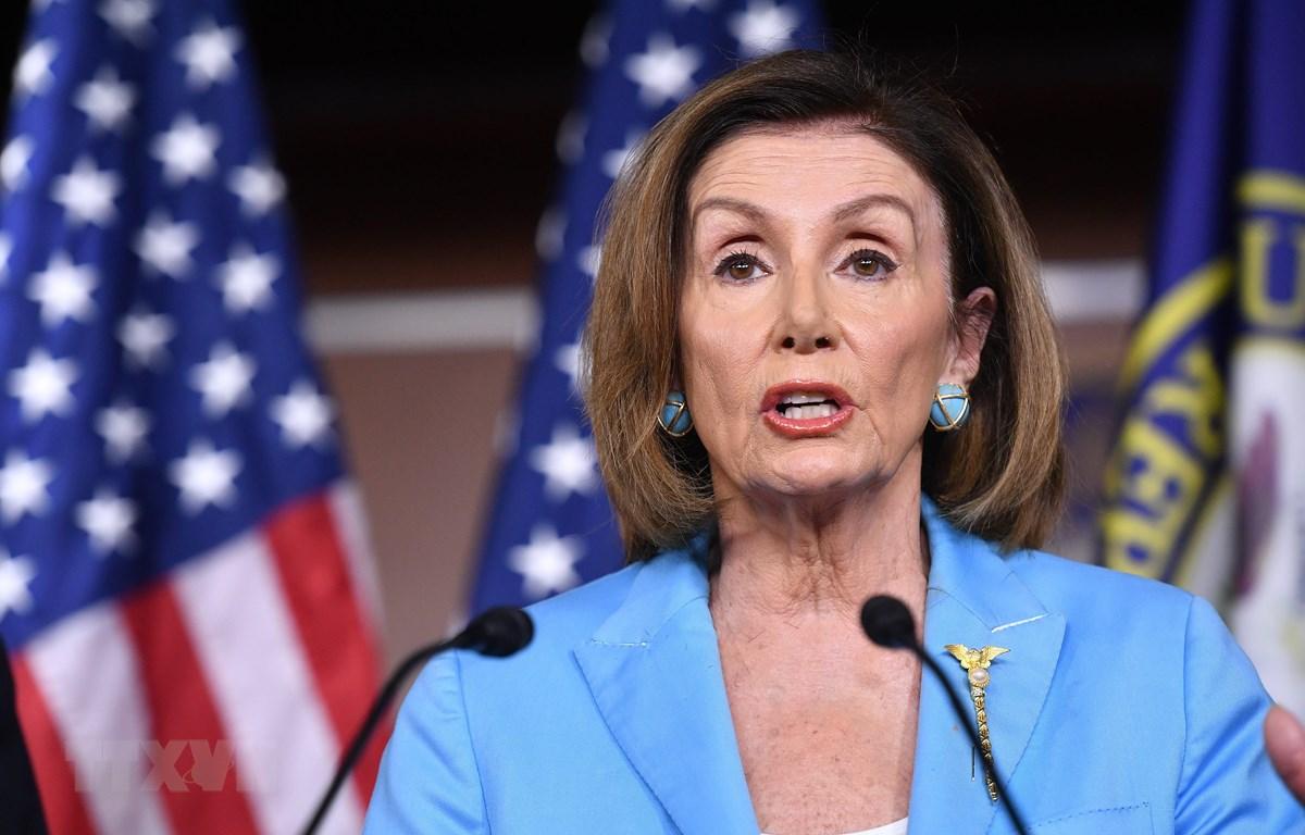 Chủ tịch Hạ viện Mỹ Nancy Pelosi. (Ảnh: AFP/TTXVN)