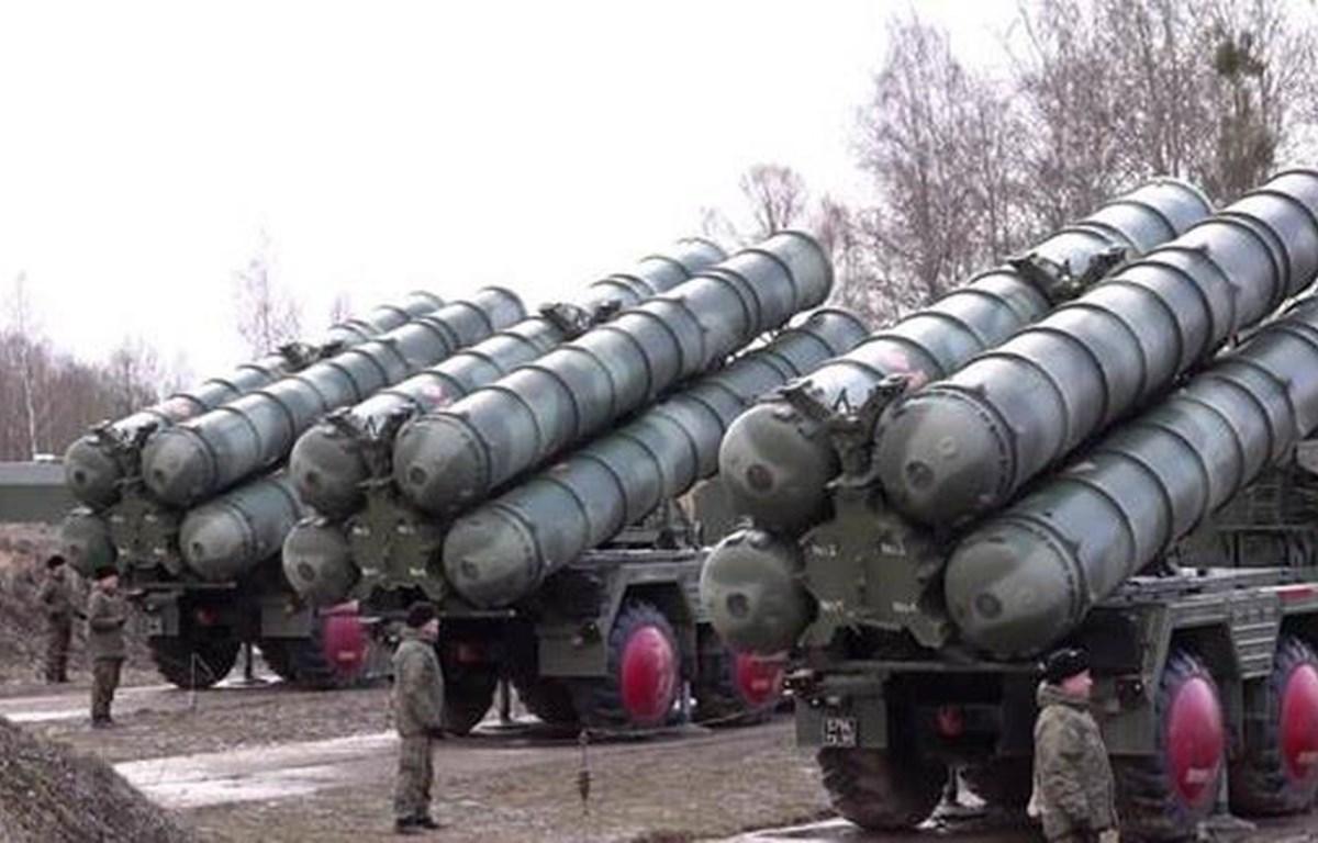 Hệ thống S-400 của Nga. (Ảnh: Almasdar News/TTXVN)