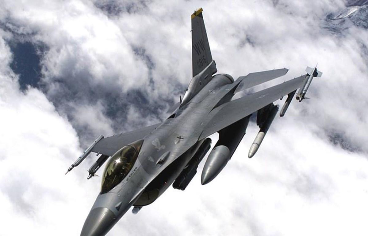 Máy bay F16. (Nguồn: Reuters)