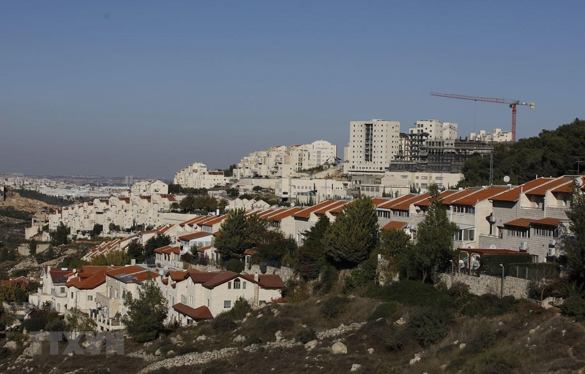 Quang cảnh khu định cư Efrat của Israel ở gần thành phố Bethlehem, Bờ Tây ngày 19/11/2019. (Ảnh: AFP/TTXVN)