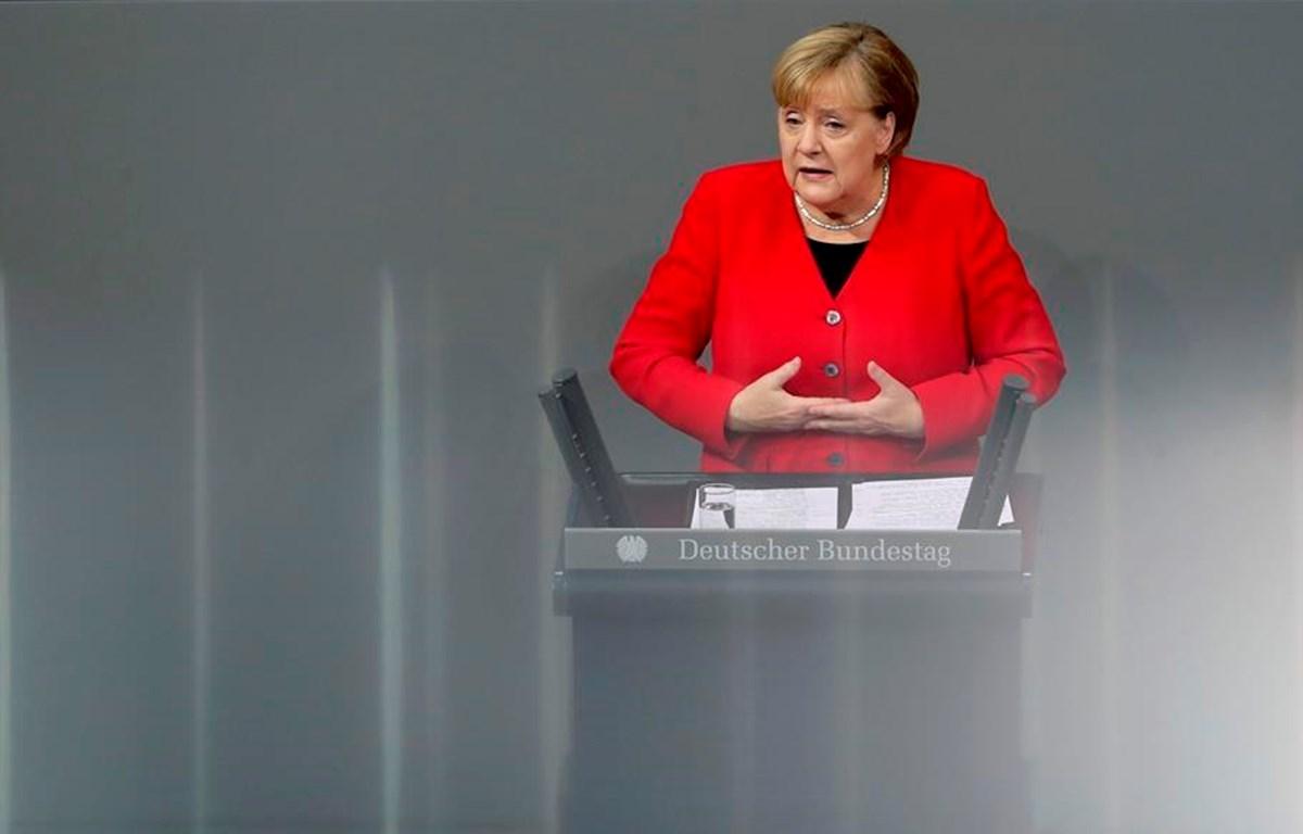 Thủ tướng Đức Angela Merkel. (Nguồn: AP)