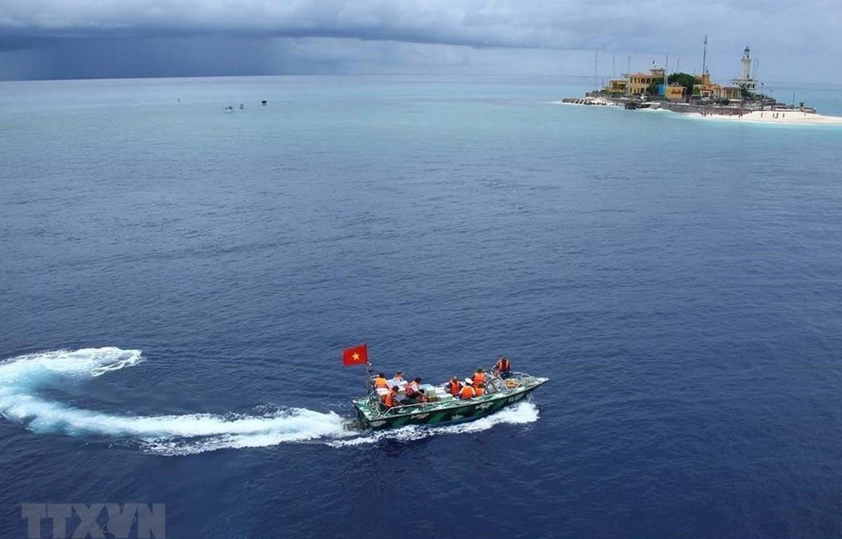 Đảo An Bang thuộc quần đảo Trường Sa của Việt Nam. (Ảnh: Quý Trung/TTXVN)