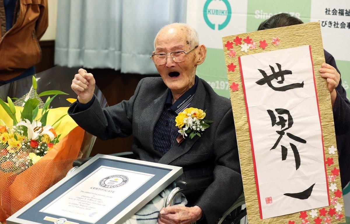 Cụ ông Chitetsu Watanabe. (Nguồn: EPA)