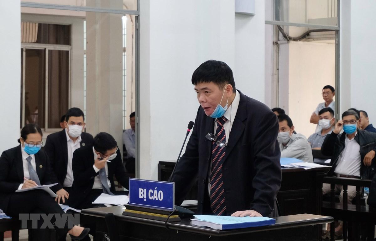 Bị cáo Trần Vũ Hải tại phiên tòa xét xử phúc thẩm. (Ảnh: Tiên Minh/TTXVN)