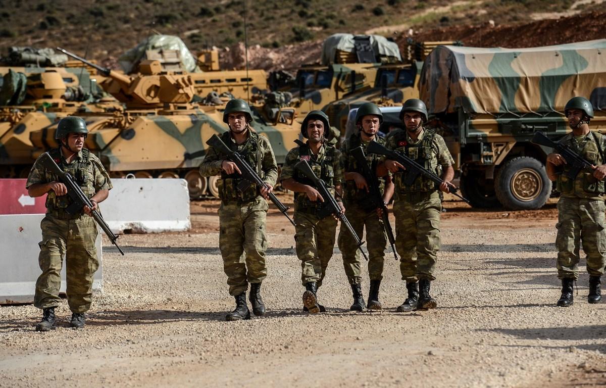 Binh sỹ Thổ Nhĩ Kỳ. (Ảnh: AFP/TTXVN)