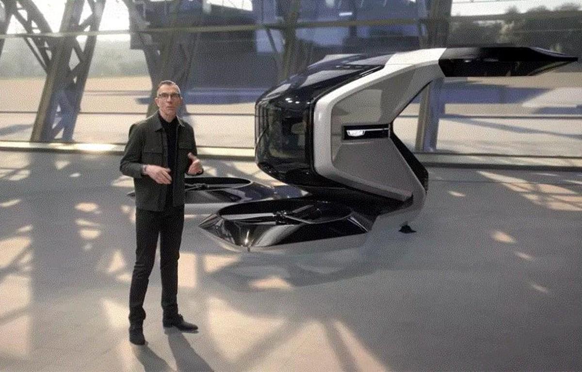 GM phát một đoạn video về phương tiện cất cánh và hạ cánh thẳng đứng (eVTOL). (Nguồn: General Motors)