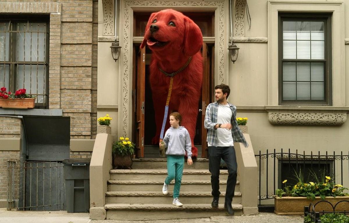 Điều gì sẽ xảy ra nếu chú chó cưng của gia đình bỗng cao lớn bằng kích cỡ một ngôi nhà?