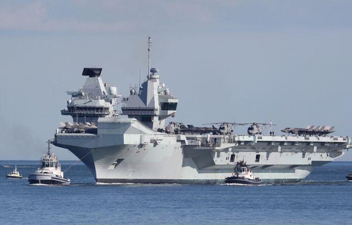 Tàu HMS Queen Elizabeth. (Nguồn: hampshirelive.news)