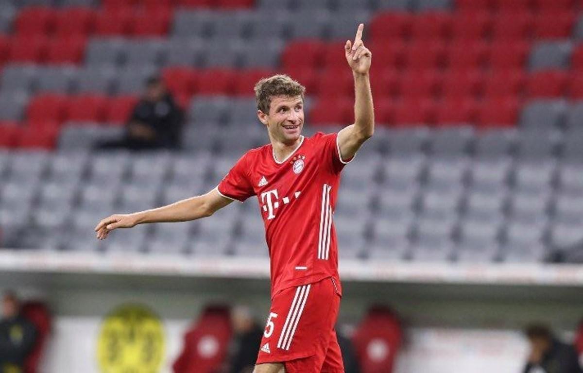 Thomas Müller trở thành cầu thủ Đức giành nhiều danh hiệu nhất trong lịch sử bóng đá nước này. (Nguồn: Fc Bayern)
