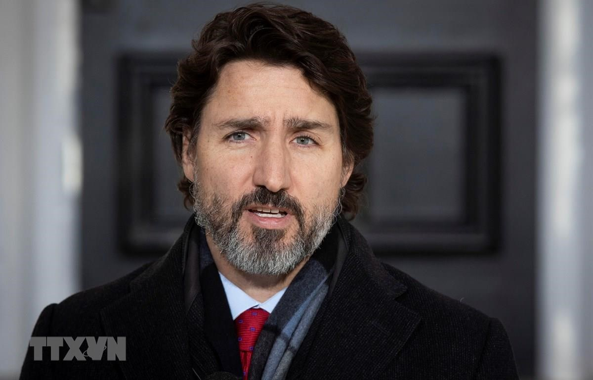 Thủ tướng Justin Trudeau. (Ảnh: AFP/TTXVN)