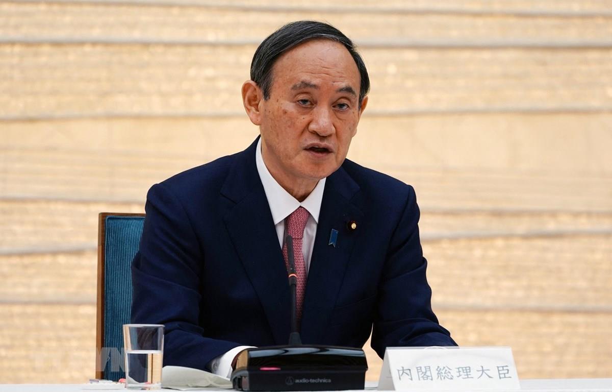 Thủ tướng Nhật Bản Yoshihide Suga. (Ảnh: AFP/TTXVN)