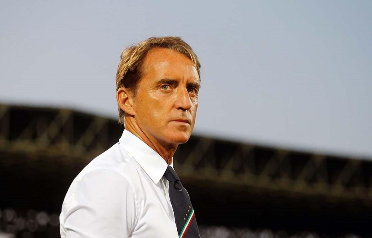 HLV Italy Roberto Mancini.(Nguồn:GettyImages)