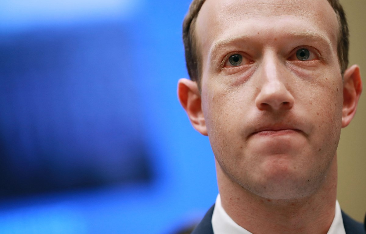 Giám đốc điều hành (CEO) Facebook Mark Zuckerberg