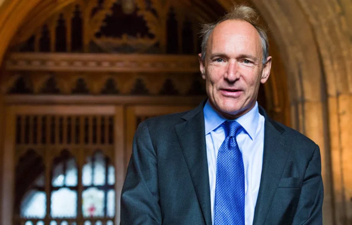 Cha đẻ mạng toàn cầu World Wide Web (www) Tim Berners-Lee. (Nguồn: Wikimedia)