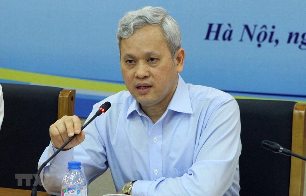 Tổng cục trưởng Tổng cục Thống kê Nguyễn Bích Lâm. (Ảnh: Hoàng Hùng/TTXVN)