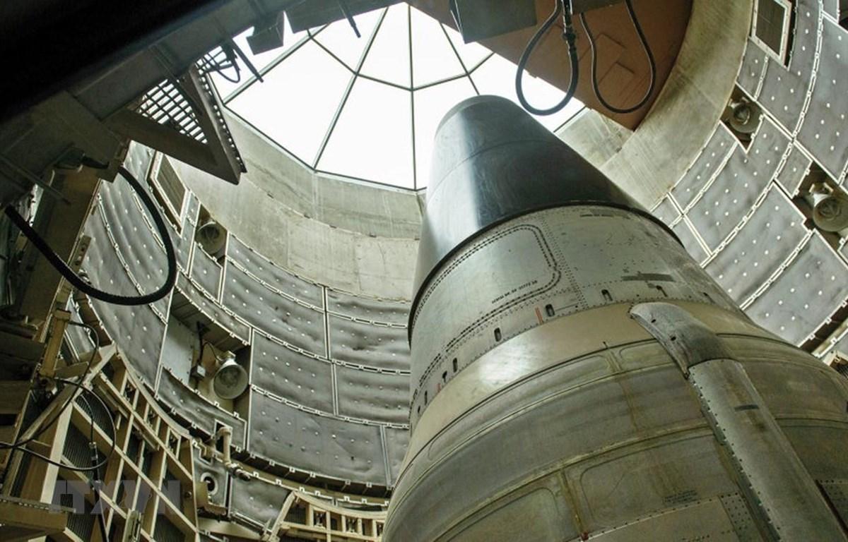 Tên lửa liên lục địa mang đầu đạn hạt nhân Titan II của Mỹ. (Nguồn: Sputnik/ TTXVN)