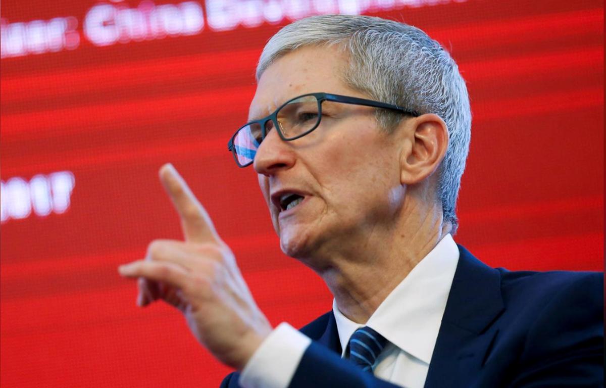 Giám đốc điều hành Apple, Tim Cook. (Nguồn: Reuters)