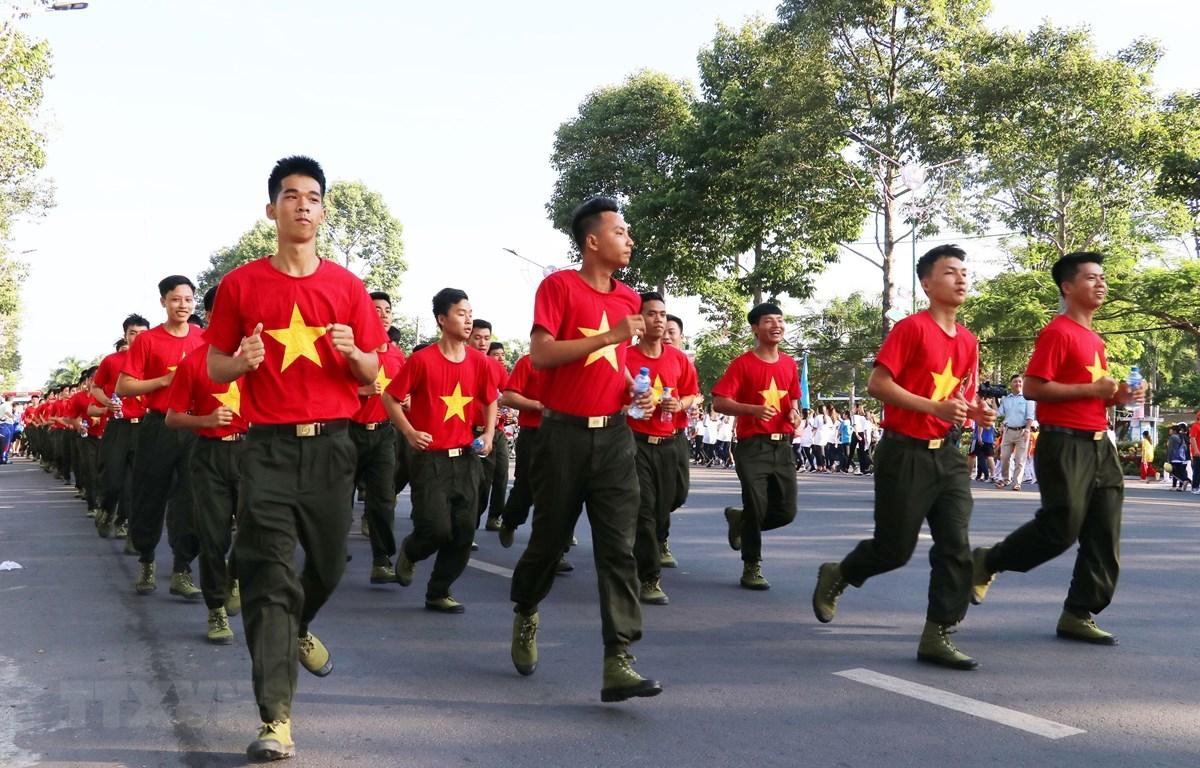 Chạy Olympic vì sức khỏe toàn dân năm 219 ở Đồng Tháp. Ảnh minh họa. (Ảnh: Nguyễn Văn Trí/TTXVN)