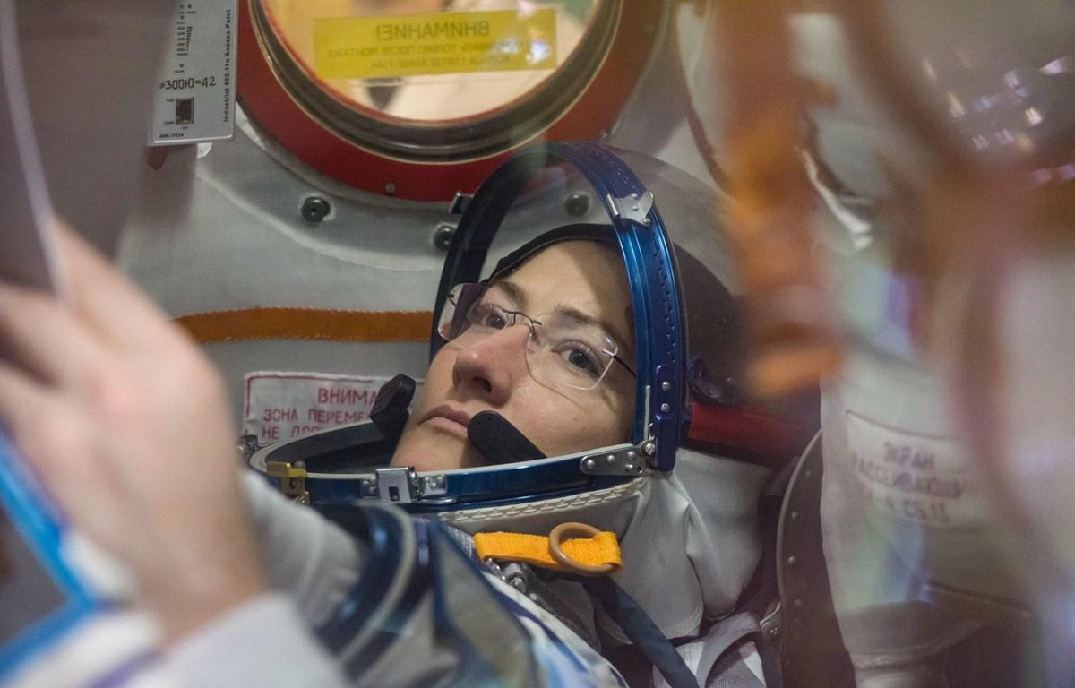 Nữ du hành gia Christina Koch. (Nguồn: NASA)