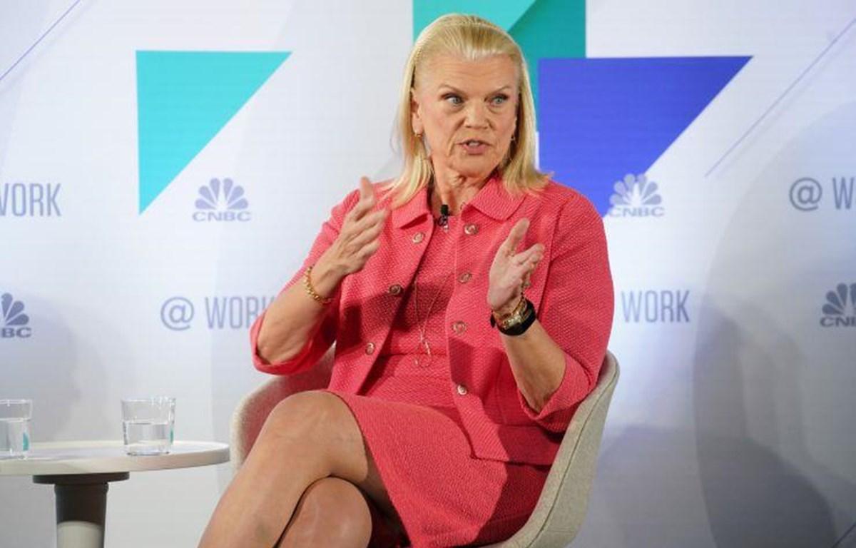 Chủ tịch, Giám đốc điều hành IBM Ginni Rometty. (Nguồn: CNBC)