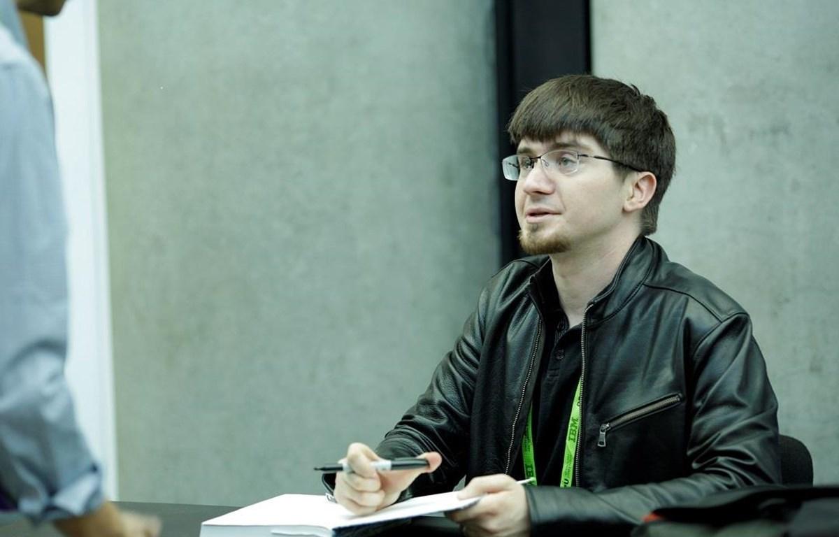 Ian Goodfellow, một nhà khoa học cao cấp trong lĩnh vực trí tuệ nhân tạo (AI). (Nguồn: NVIDIA Blog)