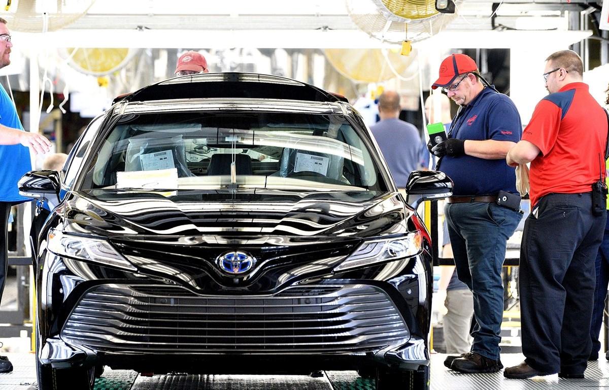 Nhà máy ôtô Toyota ở Mỹ. (Nguồn: usatoday.com)