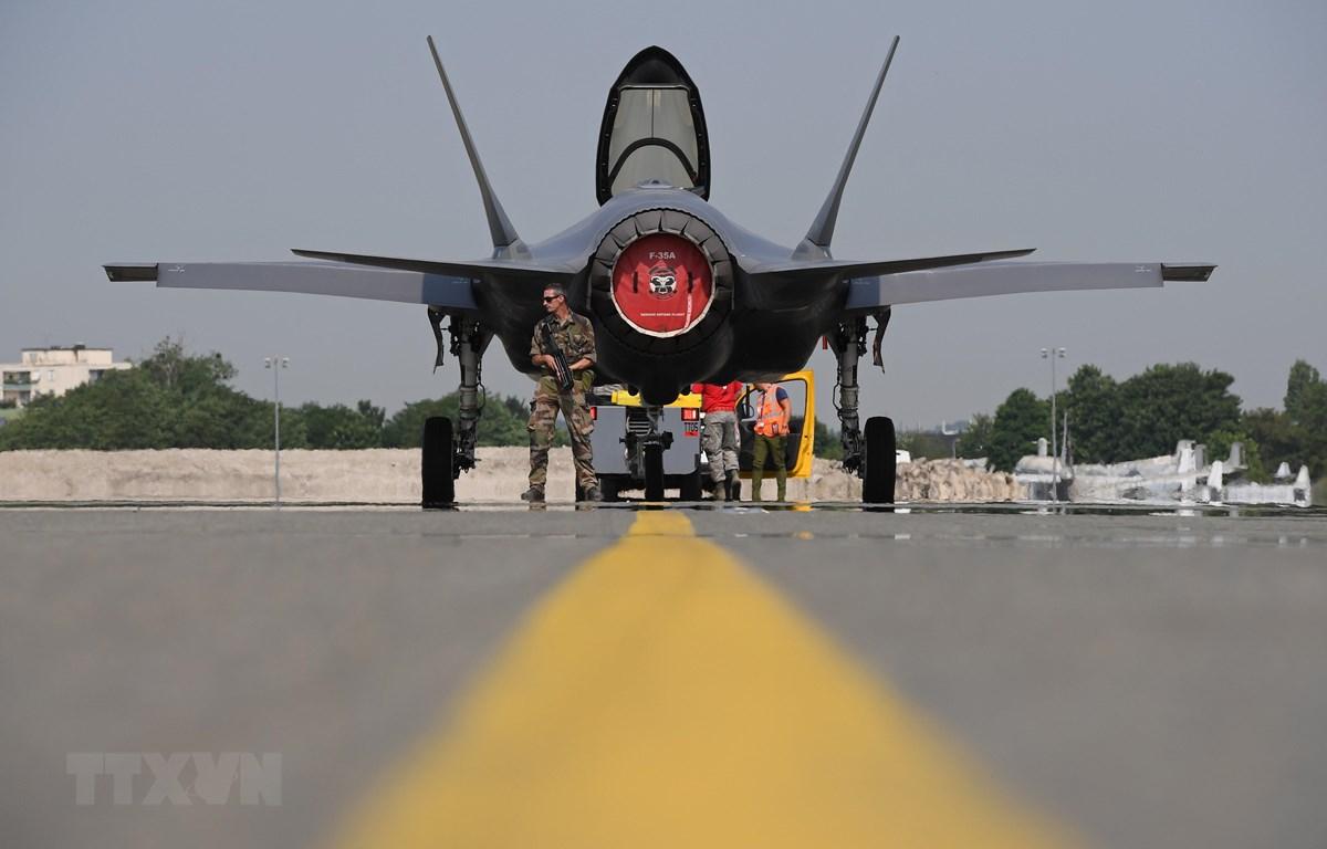 Máy bay chiến đấu F-35. (Nguồn: AFP/TTXVN)