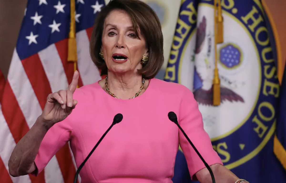 Chủ tịch Hạ viện Mỹ Nancy Pelosi. (Nguồn: Getty Images)