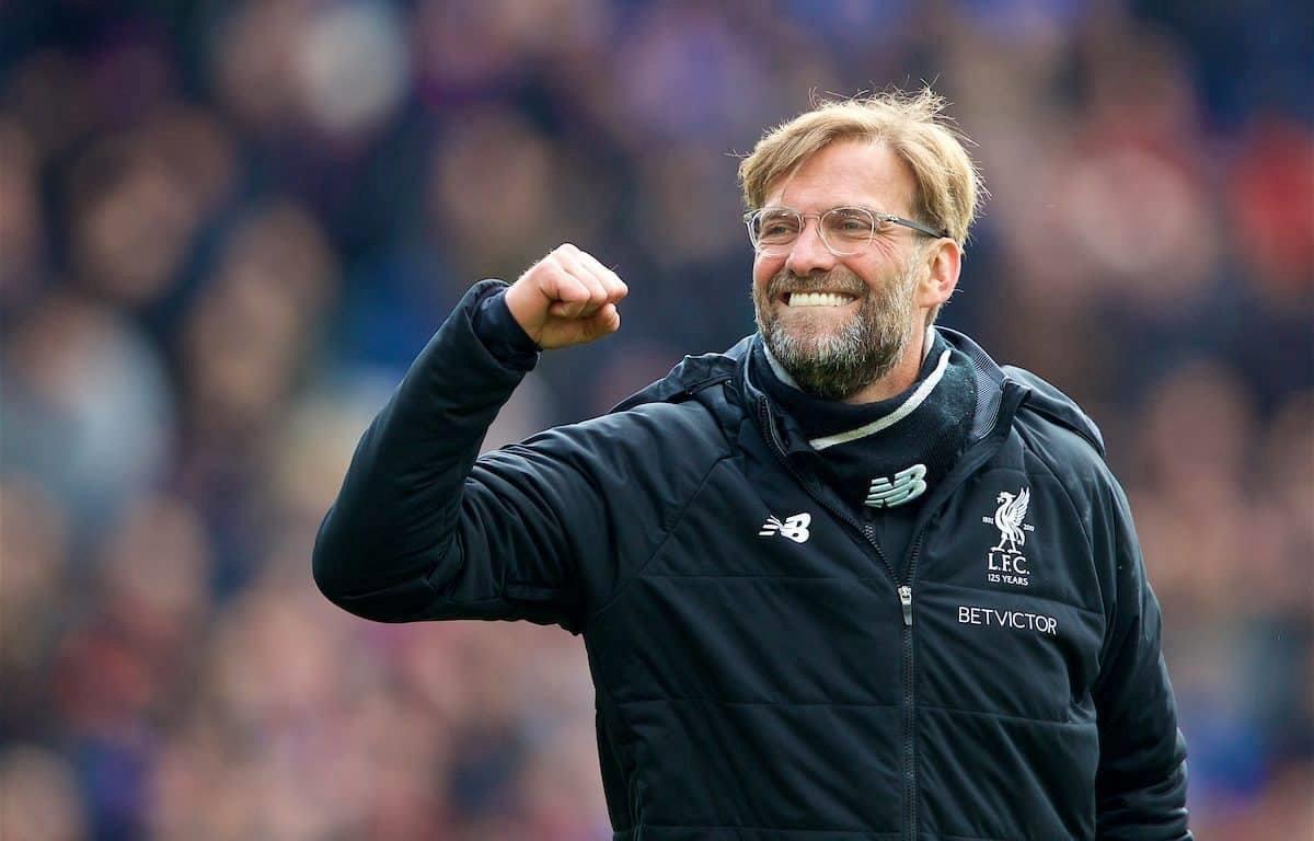 Đêm nay người hâm mộ The Kop và tất cả fan của bóng đá Đức đều mong Jürgen Klopp sẽ có một chiến thắng với nụ cười rạng rỡ trong trận chung kết Champions League toàn Anh diễn ra tại sân vận động Wanda Metropolitano, thành phố Madrid. (Nguồn: thisisanfiel