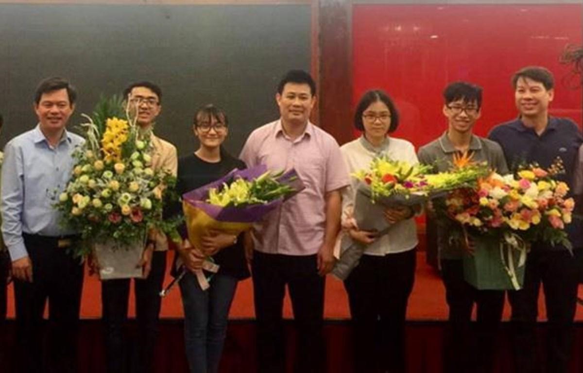 Cả 4 thí sinh Việt Nam đều đoạt giải tại Olympic Sinh học quốc tế