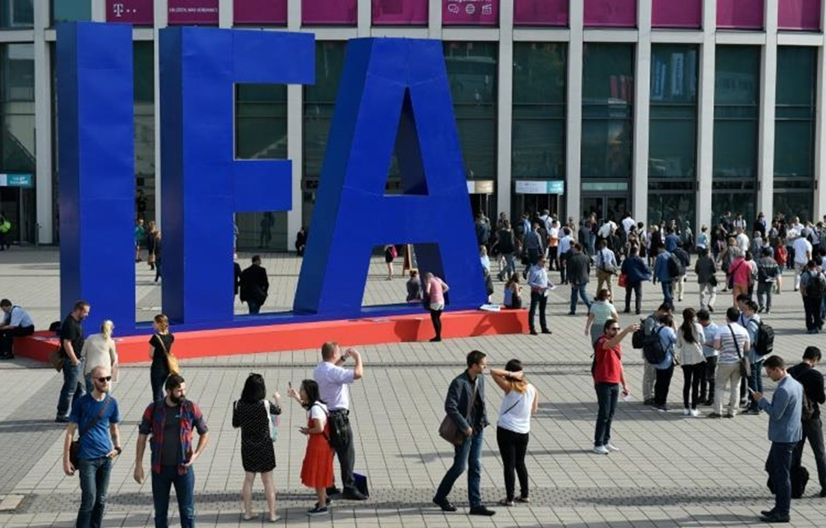 IFA, hội chợ-triển lãm công nghệ tiêu dùng hàng đầu của châu Âu. (Nguồn: AFP)