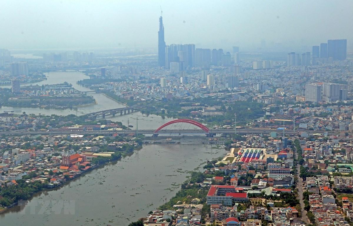 Một góc Thành phố Hồ Chí Minh. Ảnh minh họa. (Nguồn: TTXVN)