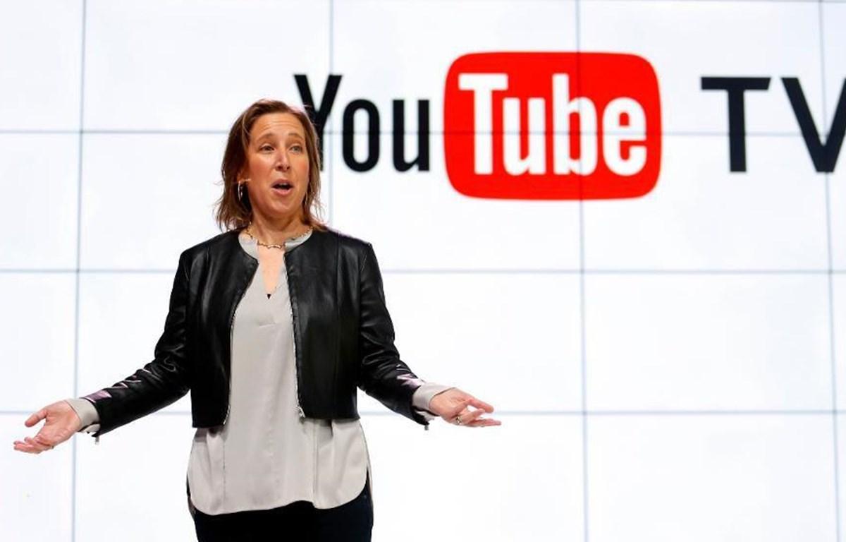 Giám đốc điều hành YouTube Susan Wojcicki. (Nguồn: AP)