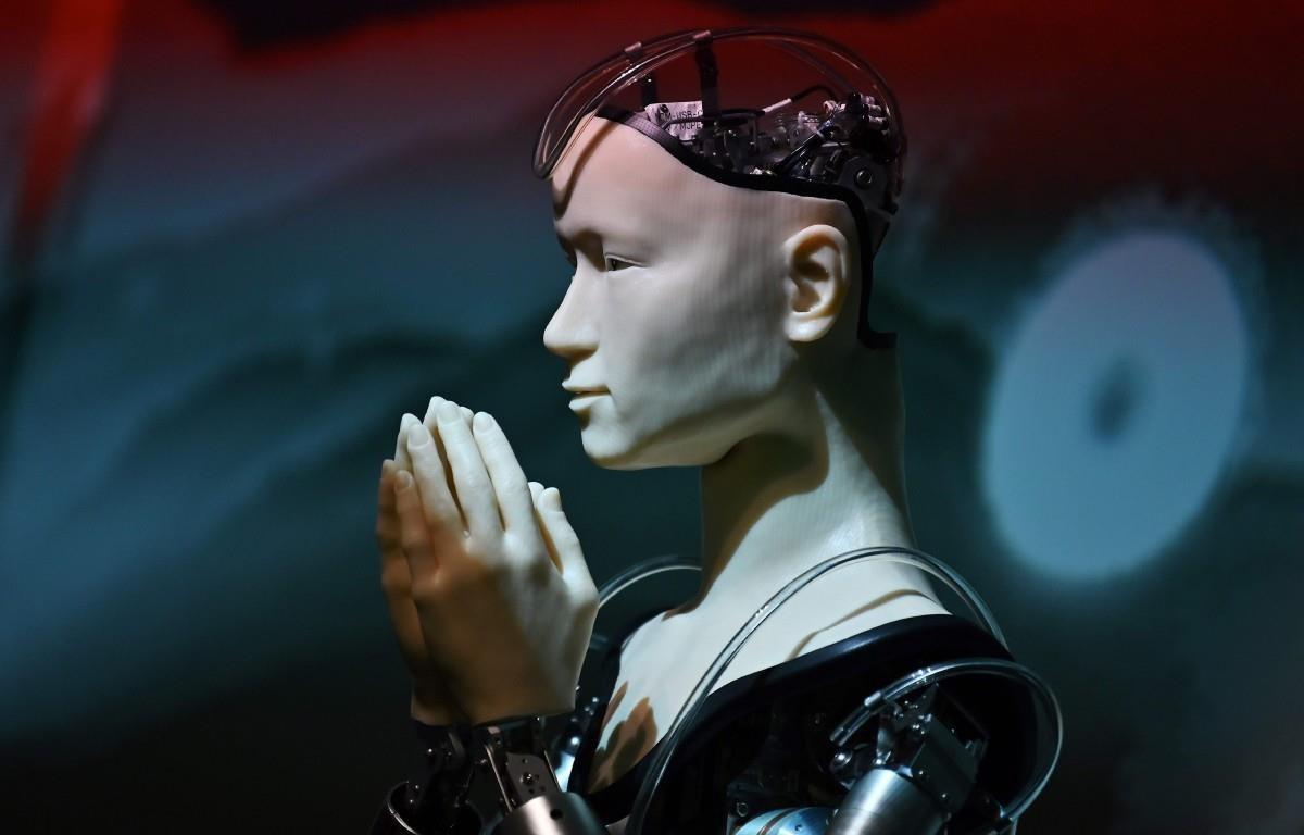 Robot Mindar. (Nguồn: AFP)
