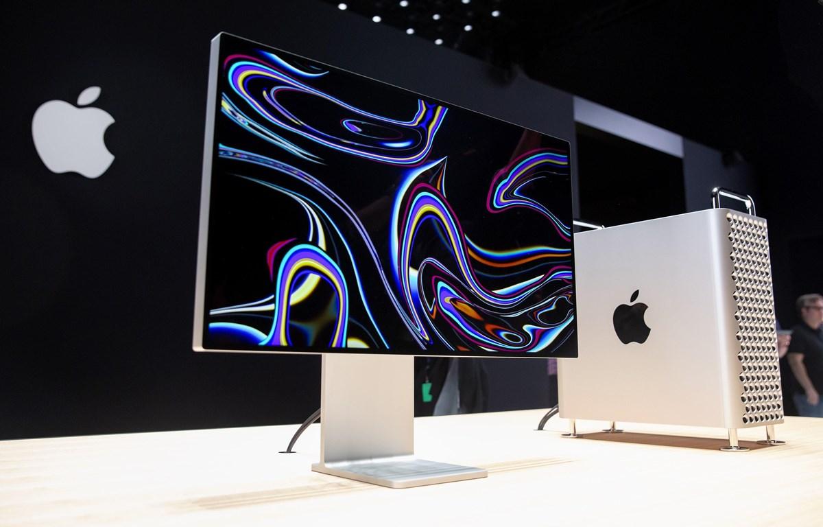 Ảnh tư liệu: Sản phẩm máy tính Mac Pro mới của Apple được giới thiệu tại phòng trưng bày ở San Jose, bang California, Mỹ tháng 6/2019.(Nguồn: AFP/TTXVN)